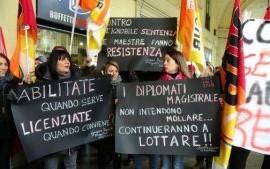 Sciopero maestri/e: la sentenza del Consiglio di Stato contro i diplomati magistrali