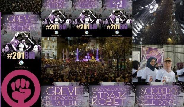 Rete Sindacale Internazionale di Solidarietà e di Lotta: l'8 marzo 2018 il femminismo del 99% ha invaso le strade e le piazze