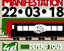 Francia: lo sciopero generale del 22 marzo rilancia la protesta sociale contro il liberismo di Macron. Ferrovieri in prima linea