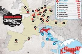 Dieselgate: Milano Nord e Monza le aree in Europa con maggiori decessi da emissioni