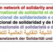 Rete Sindacale Internazionale di Solidarietà e di Lotta: contro il genocidio del popolo palestinese commesso dallo Stato Ebraico