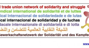 Rete Sindacale Internazionale: no alla repressione in Perù!