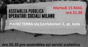 Rete Operatori Sociali: 15 maggio incontro su Riforma Terzo Settore, Legge Iori e diritti dei lavoratori