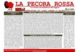 La pecora rossa 2/2018: la newsletter del Sial Cobas e Slai Cobas del Comune di Milano