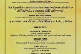Incontro il 25 settembre a Palazzo Marino: in difesa della Sanità Pubblica contro le privatizzazioni e la corruzione