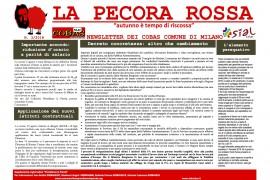 La pecora rossa N.3/2018: la newsletter di Sial/Slai Cobas del Comune di Milano