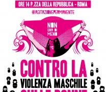 24 novembre 2018: manifestazione nazionale contro la violenza maschile sulle donne