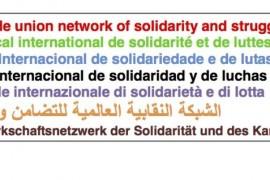 Rete Sindacale Internazionale: solidarietà alle mobilitazioni di Hong Kong