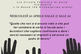 Operatori dell'accoglienza: assemblea dei lavoratori/trici della Fondazione Progetto Arca