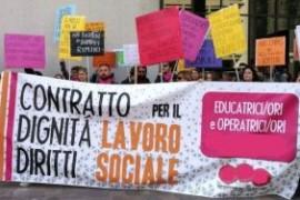 COOP. SOCIALI: UN ALTRO CONTRATTO E' POSSIBILE! COMINCIAMO DALLA DISDETTA DI QUELLO IN VIGORE!
