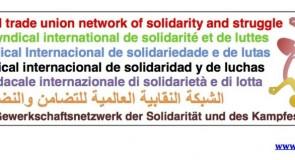 Rete Sindacale Internazionale: sostegno allo sciopero del 5 dicembre in Francia