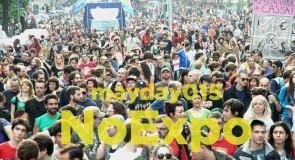 Corteo internazionale del 1° maggio a Milano /         Street Demo on international workers' day in Milan
