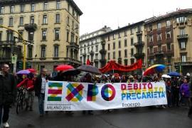 Foto dalla Mayday NO EXPO