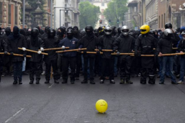 Considerazioni sulla No Expo MayDay: gestione della piazza e della rabbia