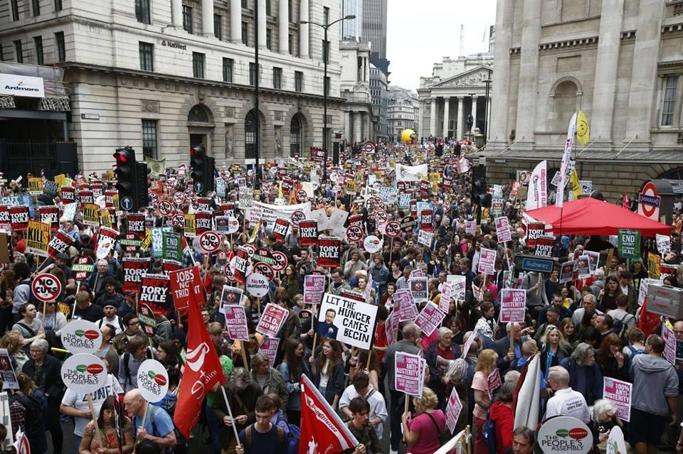 londra anti-austerity 1