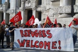 Welcome Refugees: presidio antirazzista in Stazione Centrale