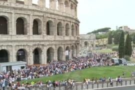 Con i lavoratori del Colosseo, contro l'attacco in arrivo al diritto di sciopero