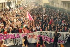 #LottoMarzo 2017 a Milano: video e comunicato di NON UNA DI MENO