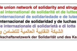 Rete Sindacale Internazionale: solidarietà agli operai di General Motors in sciopero