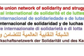 Rete Sindacale Internazionale: Black lives matter