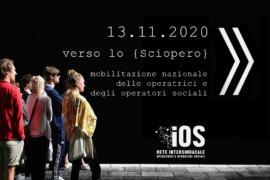 Comunicato stampa: sciopero nazionale operatrici/tori sociali del 13 novembre