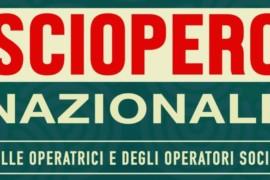 13 novembre, sciopero in Assemblea web delle Operatrici e degli Operatori Sociali
