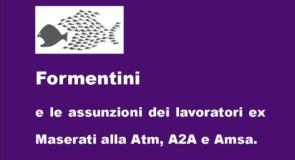 Formentini e lavoratori ex Maserati di Lambrate (Mi)