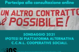 RETE IOS: sondaggio online sulla piattaforma alternativa al C.C.N.L. Cooperative Sociali