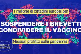 """Bloccata la proposta di sospensione dei brevetti sui vaccini: avanti con la campagna #NoprofitOnPandemic"""""""