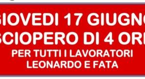Sciopero alla Leonardo: oltre il profitto, guardando al futuro!
